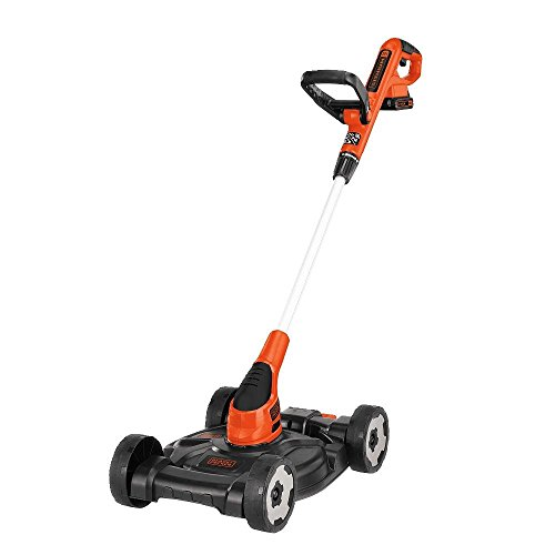 Top 5 Best Self Propelled Lawn Mower Reviews - BLACK+DECKER MTC220 12 Inch 20V MAX Lithium Cordless 3-in-1 Trimmer