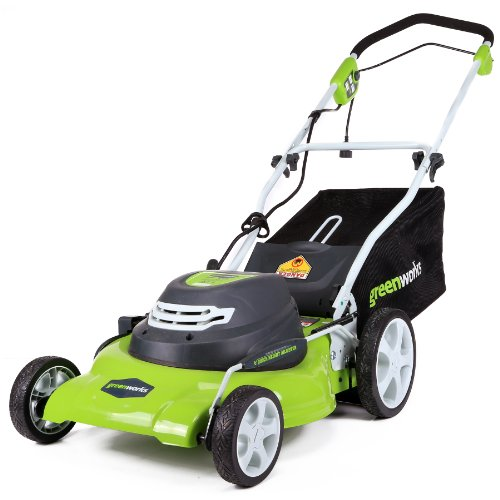 Top 5 Best Self Propelled Lawn Mower Reviews - Greenworks 20-inch 12 Amp Corded Lawn Mower 25022 Review