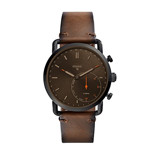 10 Cheap Men's Watches That Look Expensive In 2020 - Fossil Leather Hybrid Smartwatch