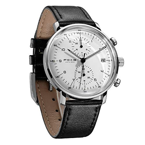 10 Cheap Men's Watches That Look Expensive In 2020 - FEICE Men's Ultra-Thin Analog Watch