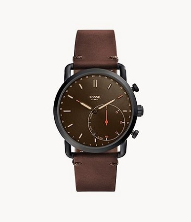 Cheap Men's Watches That Look Expensive - Fossil Men's Commuter Hybrid Smartwatch (Model: FTW1149)