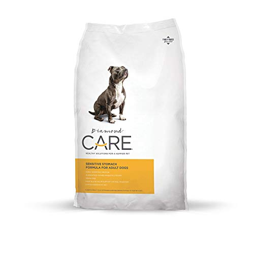 20 Best Dog Food for Sensitive Stomach and Diarrhea in 2019 - Sensitive Stomach Formula by Diamond Care