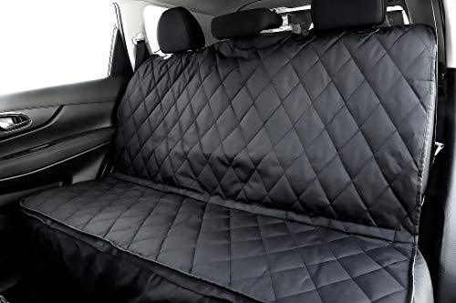 10 Best Dog Seat Covers for Leather Seats 2020 - Plush Paws Products Pet Seat Cover with Removable Hammock