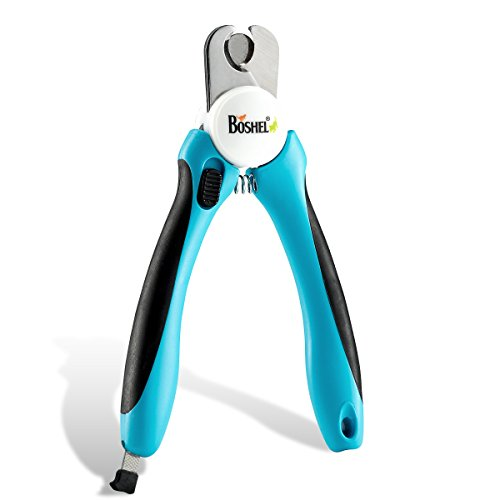 10 Best Dog Nail Clippers for Black Nails 2019 - Boshel Dog Nail Clippers and Trimmer
