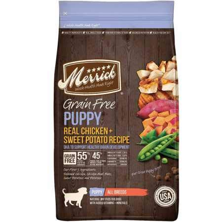 20 Best Dog Food for Sensitive Stomach and Diarrhea in 2019 - Merrick Grain Free Dry Food for Dogs
