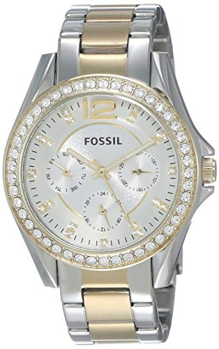 Top 13 Cheap Women's Watches That Look Expensive - Fossil Women's Riley - ES3204