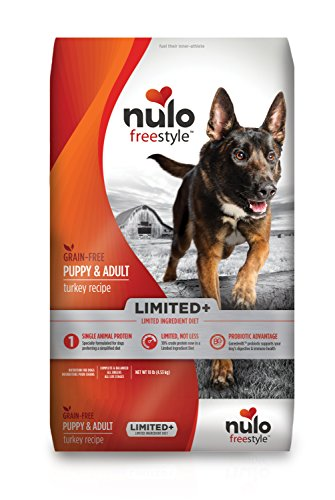 20 Best Dog Food for Sensitive Stomach and Diarrhea in 2019 - Nulo Freestyle Limited Turkey Recipe Without Grain