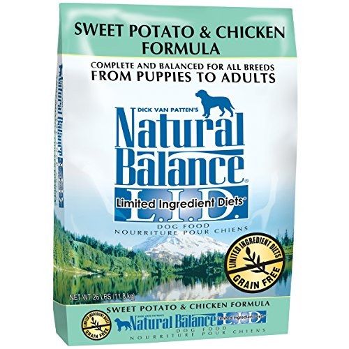 20 Best Dog Food for Sensitive Stomach and Diarrhea in 2019 - Natural Balance- Chicken and Sweet Potato Dog Food