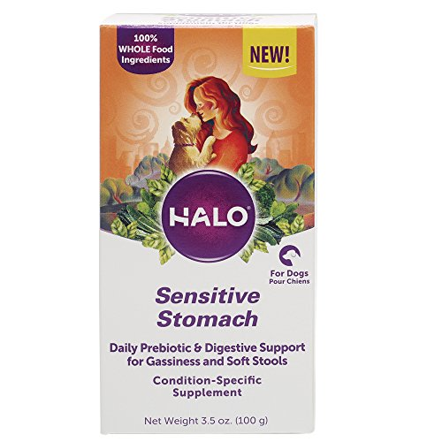 20 Best Dog Food for Sensitive Stomach and Diarrhea in 2019 - Halo Natural Supplements Dog Food for Sensitive Stomach