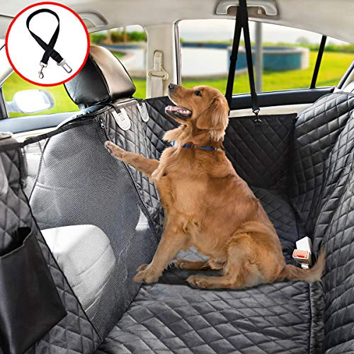 10 Best Dog Seat Covers for Leather Seats 2020 - Vailge Dog Seat Cover for Back Seat
