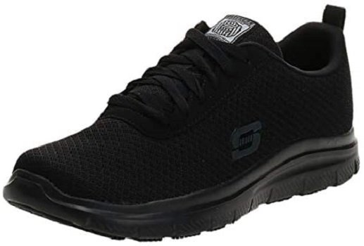 Most Comfortable Men's Shoes for Standing All Day - Skechers Men's Work Shoe