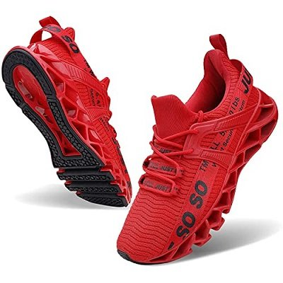 Most Comfortable Men's Shoes for Standing All Day - Wonesion Men's Tennis Running Shoes